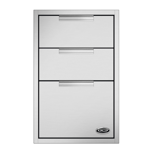 Dcs 20 Inch Triple Tower Drawer With Soft Close Extreme