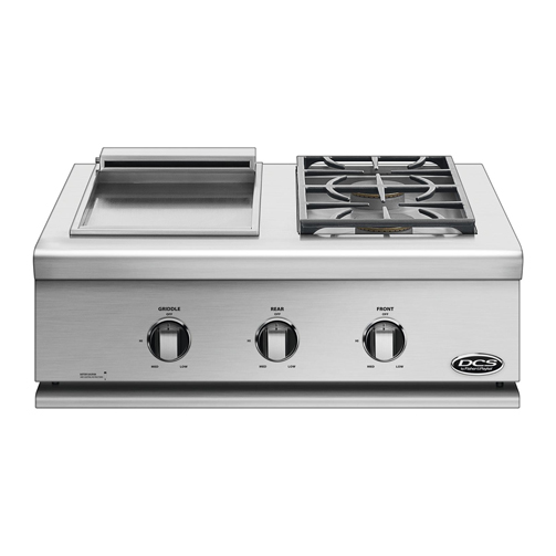 Dcs Liberty 30 Inch Built In Gas Double Side Burner And