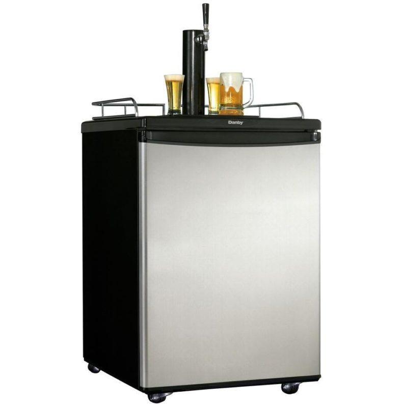 Danby 5 8 Cu Ft Keg Cooler Kegerator Stainless
