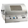 Fire Magic Aurora A790i 36-Inch Built-In Natural Gas Grill With Rotisserie And Magic View Window - A790i-6E1N-W