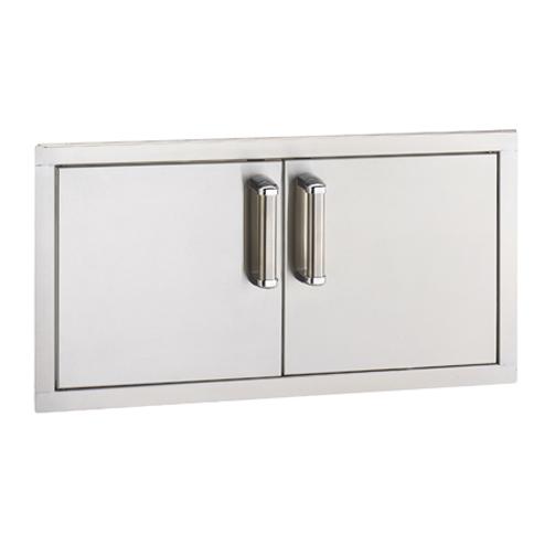 Fire magic premium flush 30 x 15 inch double access door for 15 inch door
