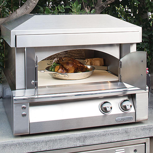 Alfresco 30 Inch Countertop Gas Outdoor Pizza Oven