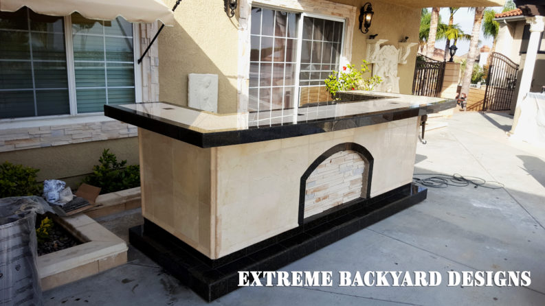 Chino hills bbq island delivery extreme backyard designs - Extreme backyard designs ...