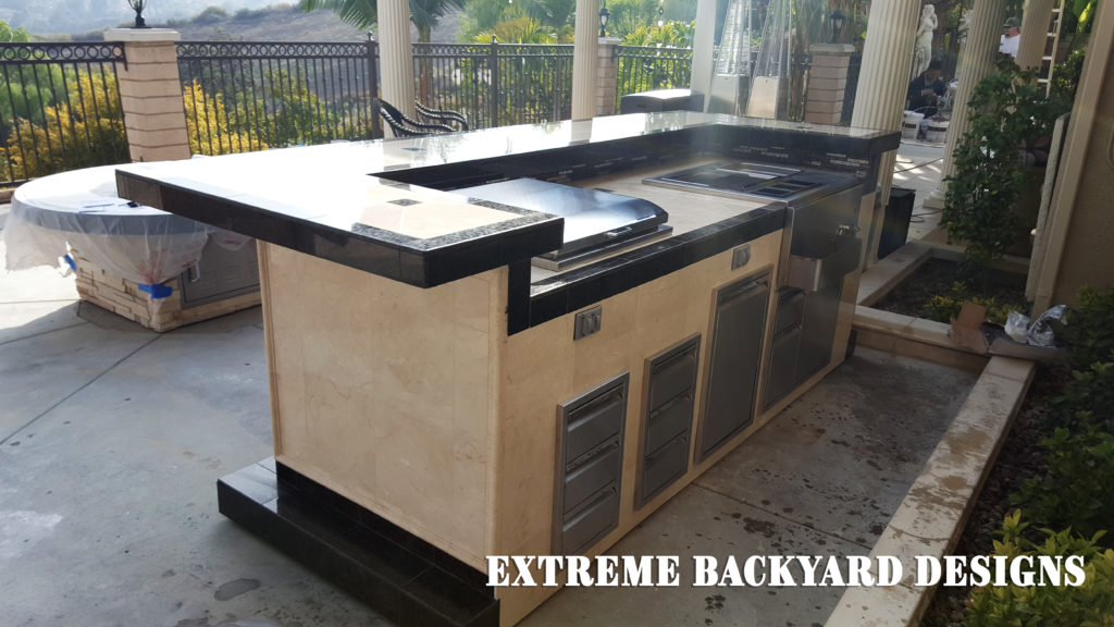 Chino Hills Bbq Island Delivery Extreme Backyard Designs
