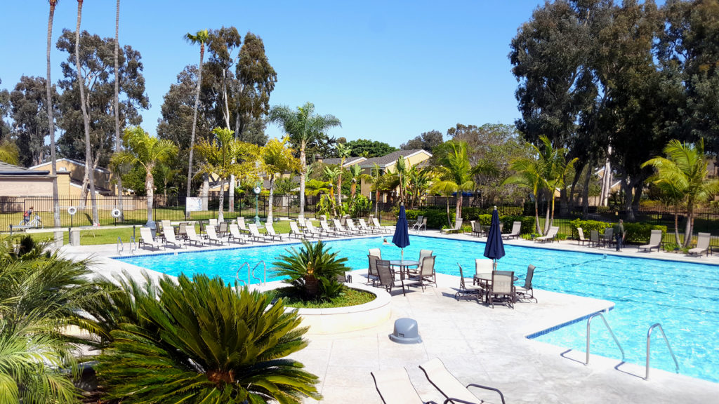 Condo Pool Area Huntington Beach Ca Extreme Backyard