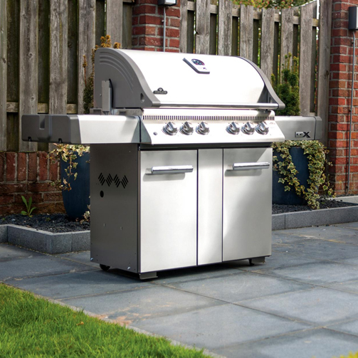 Napoleon Lex 605 Freestanding Gas Grill With Infrared Rear
