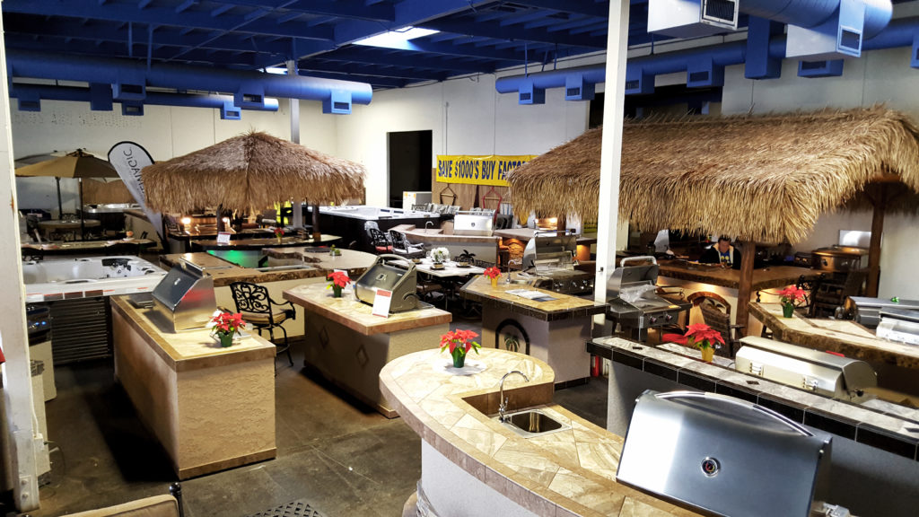 our 10 000 square foot showroom extreme backyard designs