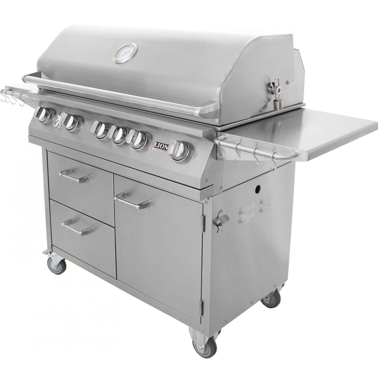 Lion inch gas grill l stainless steel