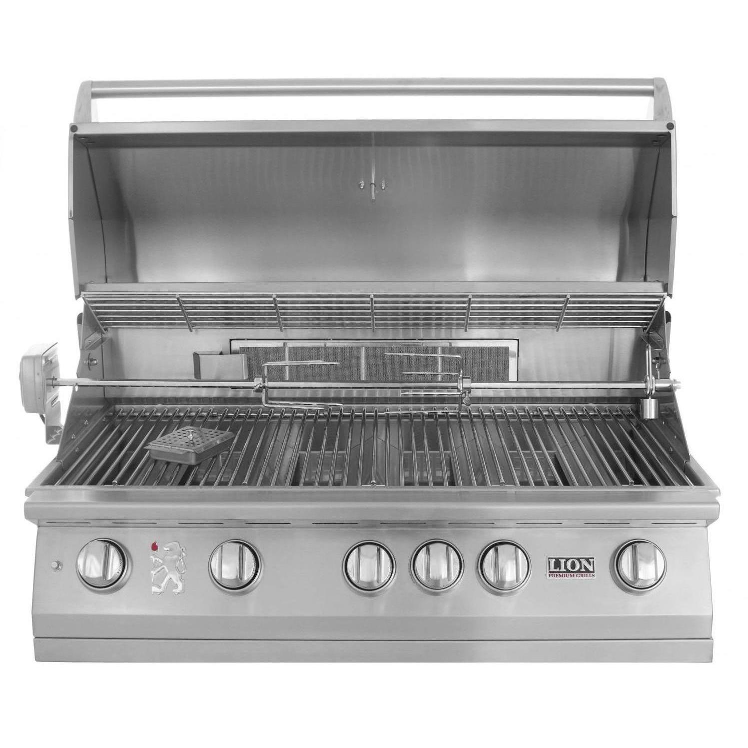 Lion 40 Inch Built In Gas Grill L90000 Stainless Steel