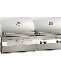Fire Magic Aurora A830i 46-Inch Built-In Natural Gas And Charcoal Combo Grill With Rotisserie - A830i-6EAN-CB