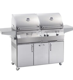 Fire Magic Aurora A830s 46-Inch Freestanding Dual Propane Gas And Charcoal Grill - A830s-5EAP-61-CB