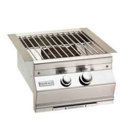 Fire Magic Aurora Built-In Natural Gas Power Burner With Stainless Steel Grid - 19-SLB1N-0