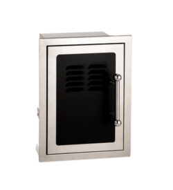 Fire Magic Echelon Black Diamond Single Access Door w/ Tank Tray & Louvers- 53820H-TSL or TSR