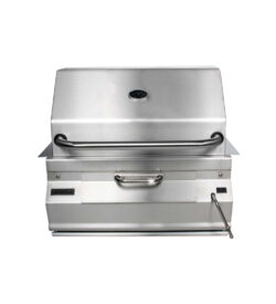 Fire Magic Legacy 24-Inch Built-In Meat Smoker Charcoal Grill - 12-SC01C-A