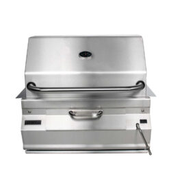 Fire Magic Legacy 30-Inch Built-In Meat Smoker Charcoal Grill - 14-SC01C-A