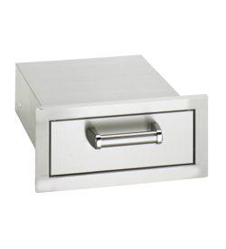 Fire Magic Premium Flush 14-Inch Single Access Drawer - 53801