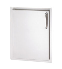 Fire Magic Select 17-Inch Left-Hinged Single Access Door - Vertical - 33924-SL