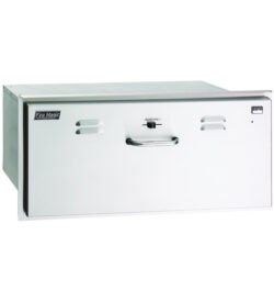 Fire Magic Select 30-Inch Built-In 110V Electric Stainless Steel Warming Drawer - 33830-SW
