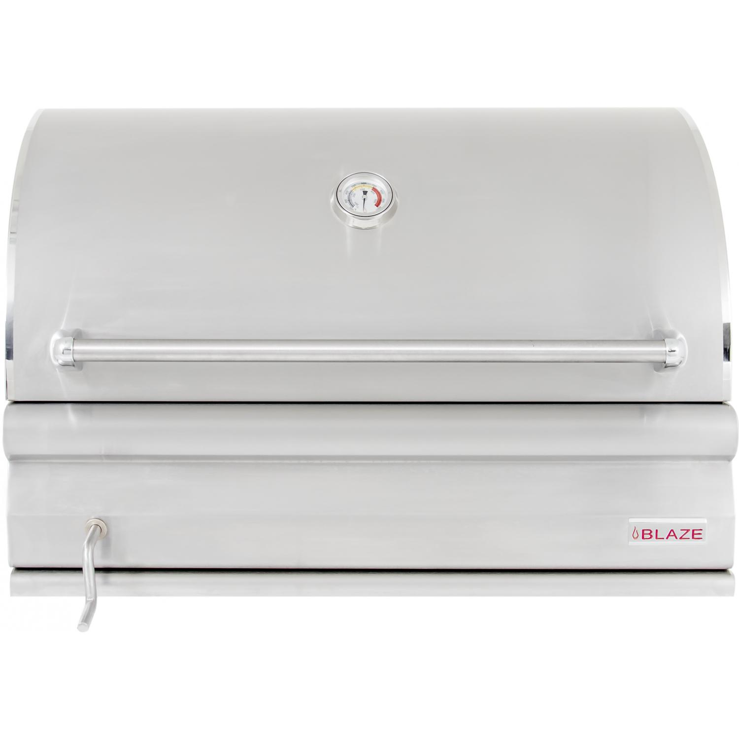 blaze 32inch builtin stainless steel charcoal grill - Stainless Steel Charcoal Grill