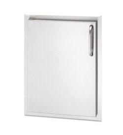 American Outdoor Grill 17-Inch Left Hinged Single Access Door - Vertical - 24-17-SSDL