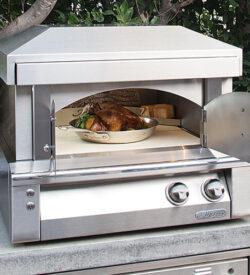Alfresco 30-Inch Countertop Natural Gas Outdoor Pizza Oven - AXE-PZA