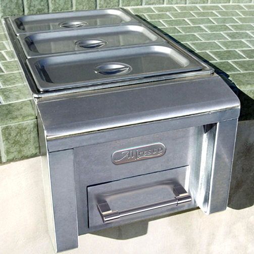 Alfresco Built In Food Warmer Amp Steam Table Extreme