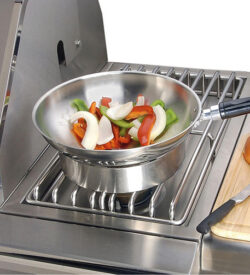 Alfresco Natural Gas Double Side Burner For Freestanding Grills - AXESB-2C-NG