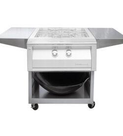 Alfresco 24-Inch Cart For Freestanding Versa Power Cooker - AXEVP-C
