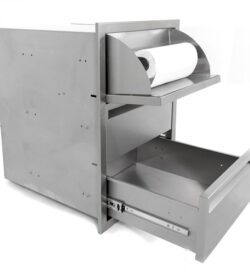 PCM 17x24 Triple Drawer with Paper Towel Dispenser