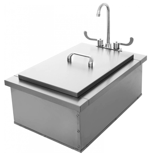 15x24 Insulated Sink With Condiment Tray 400 Series