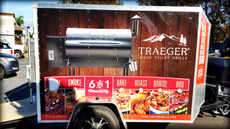 Traegar Cook Off   Extreme Backyard Designs