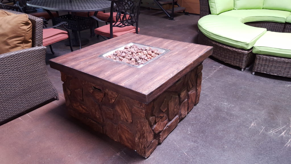 Fire tables extreme backyard designs for Concreteworks fire table