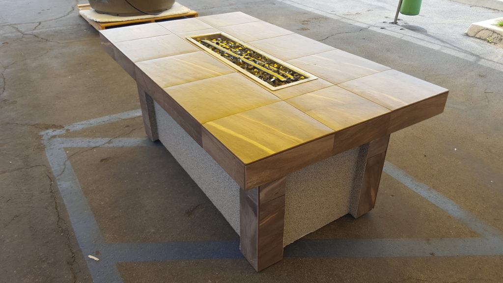 3 X 5 Fire Table