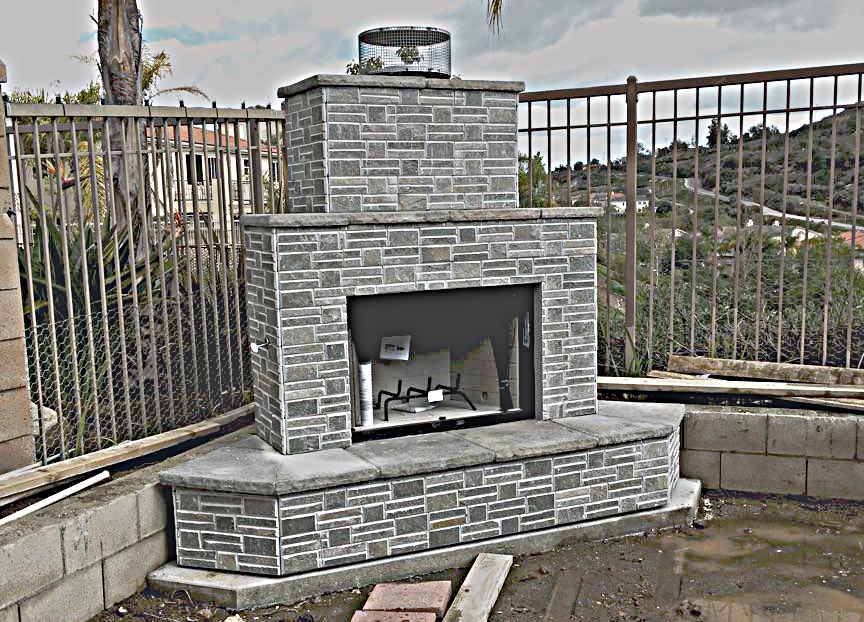 Elegant Fireplace