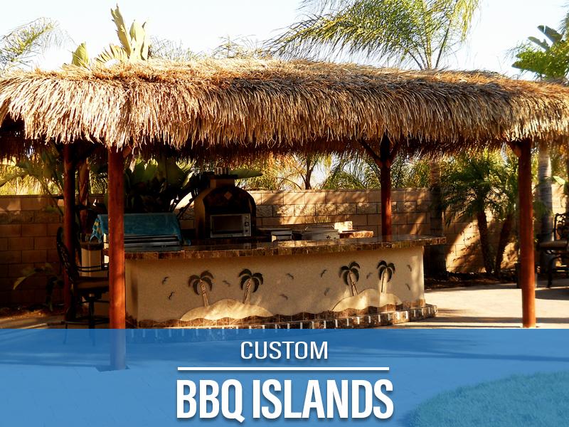 Custom BBQ Islands Nice Design