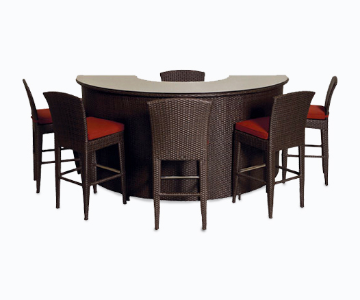 Wicker Patio Furniture. Wicker Bar Stools Orange County ...